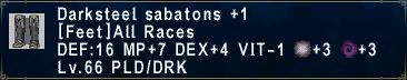 Darksteel Sabatons +1