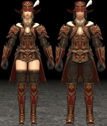 Estoqueur's Armor +1 Set