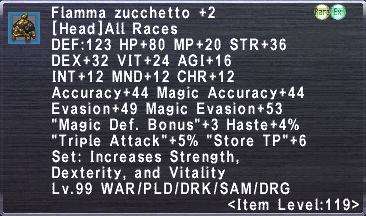 Flamma Zucchetto +2