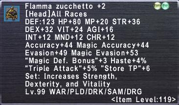 Flamma Korazin +2 Set