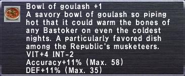 Goulash +1