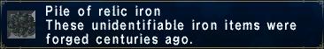 Relic Iron