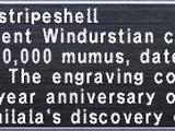 Rimilala Stripeshell