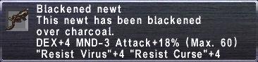 Blackened Newt