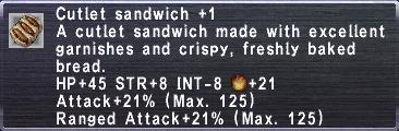 Cutlet Sandwich +1