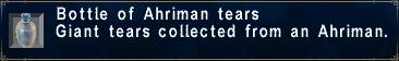 Ahriman Tears