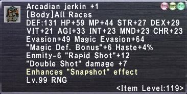 Arcadian Jerkin +1