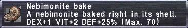 Nebimonite Bake