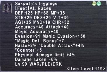 Sakpata's Leggings