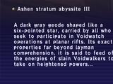 Ashen Stratum Abyssite III
