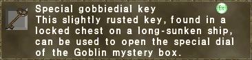 SP Gobbie Key