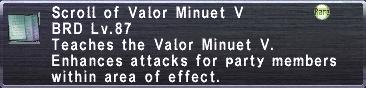 Valor Minuet V