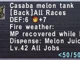 Casaba Melon Tank