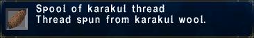Karakul Thread