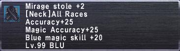 Mirage Stole +2