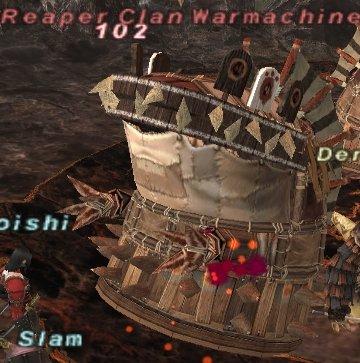Reaper Clan Warmachine
