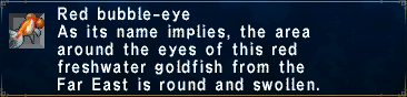 Red Bubble-Eye