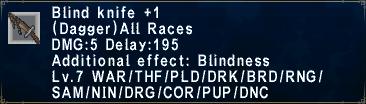 Blind Knife +1