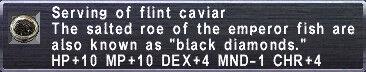 Flint Caviar