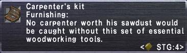 Carpenter's Kit