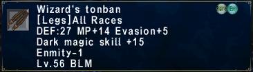 Wizard's Tonban