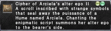Cipher: Arciela II
