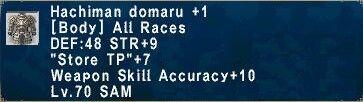 Hachiman Domaru +1