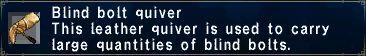 Blind Bolt Quiver