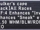 Skulker's Cape
