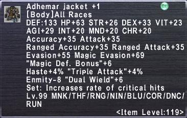 Adhemar Jacket +1