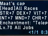 Maat's Cap