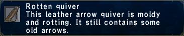 Rotten Quiver