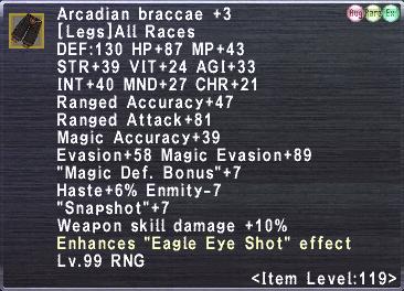 Arcadian Braccae +3