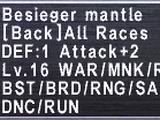 Besieger Mantle