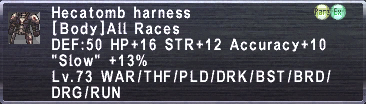 Hecatomb Harness