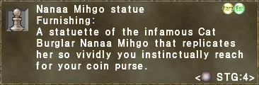 Nanaa Mihgo Statue