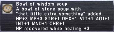 Wisdom Soup