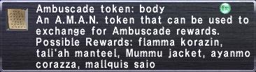Ambuscade Token: Body