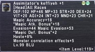 Assimilator's Keffiyeh +1
