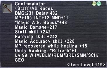 Contemplator (Staff)