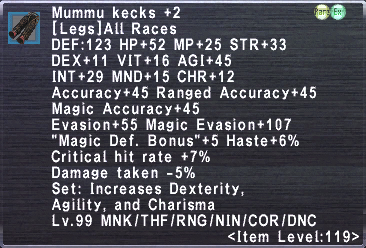 Mummu Kecks +2