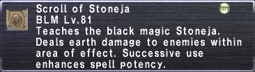 Scroll of Stoneja