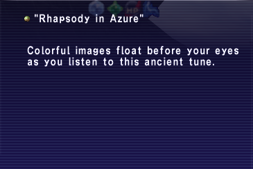 Rhapsody in Azure