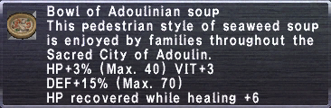 Adoulinian Soup