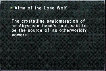 Atma of the Lone Wolf