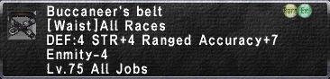Buccaneer's Belt