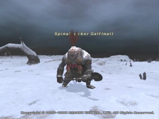 Spinalsucker Galflmall