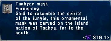 Tsahyan Mask