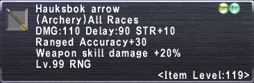 Hauksbok Arrow