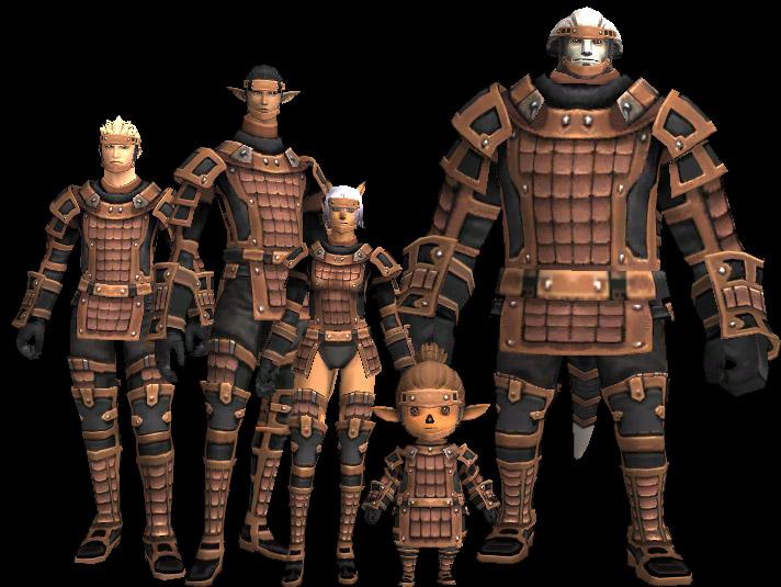 Brass Scale Armor +1 Set